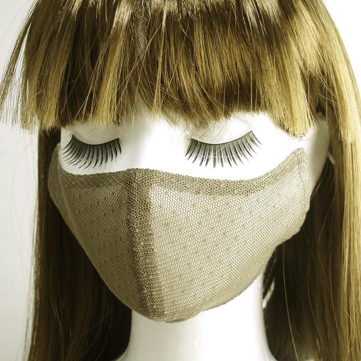 マスク カーキ