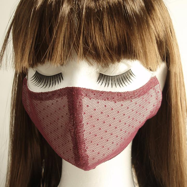 マスク ワイン紫