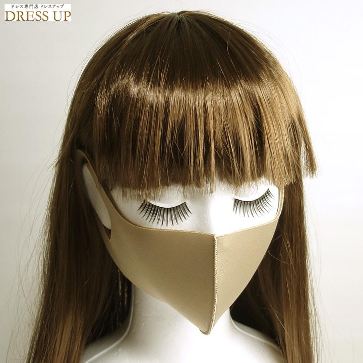 マスク ベージュ