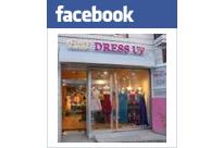 ドレスアップのフェイスブックページ